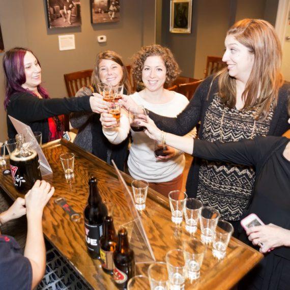 Cheers! Bourbon tastings are fun!
